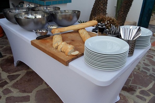 DIY: rent your plates from Do It Yourself Catering Costa Blanca