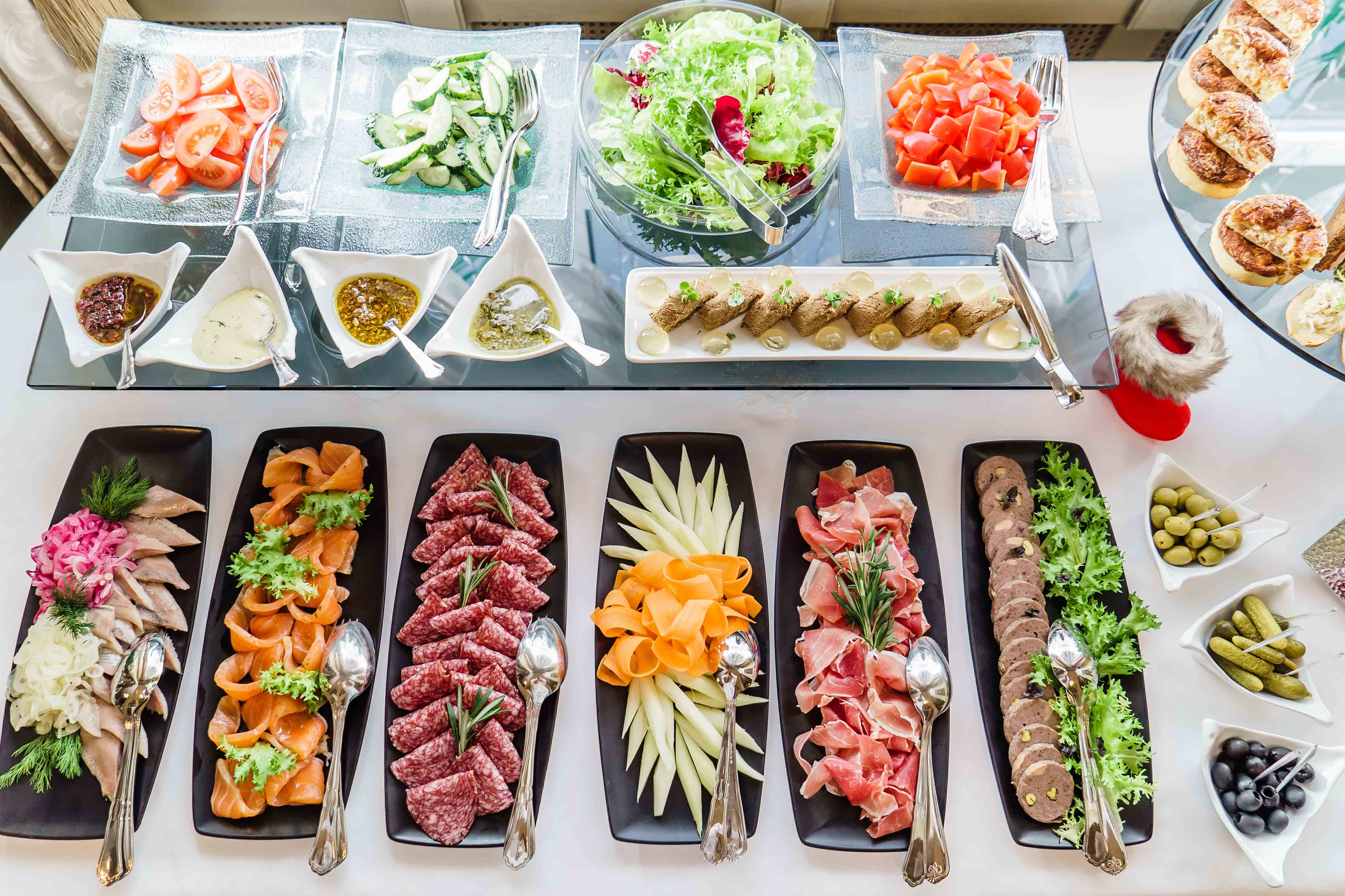 The best wedding caterer buffet on the Costa Blanca