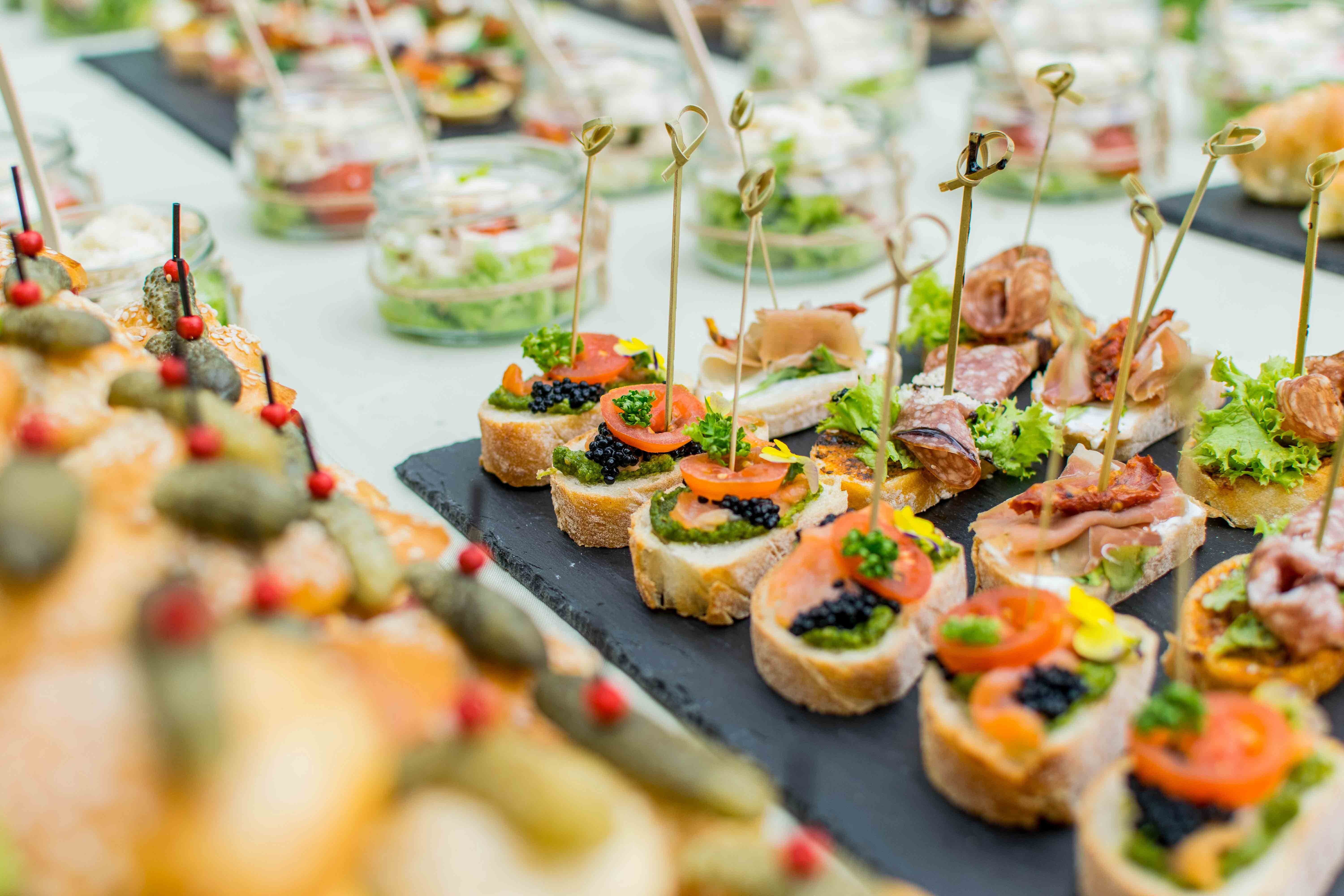 Costa Blanca Special Events Catering for cocktail parties