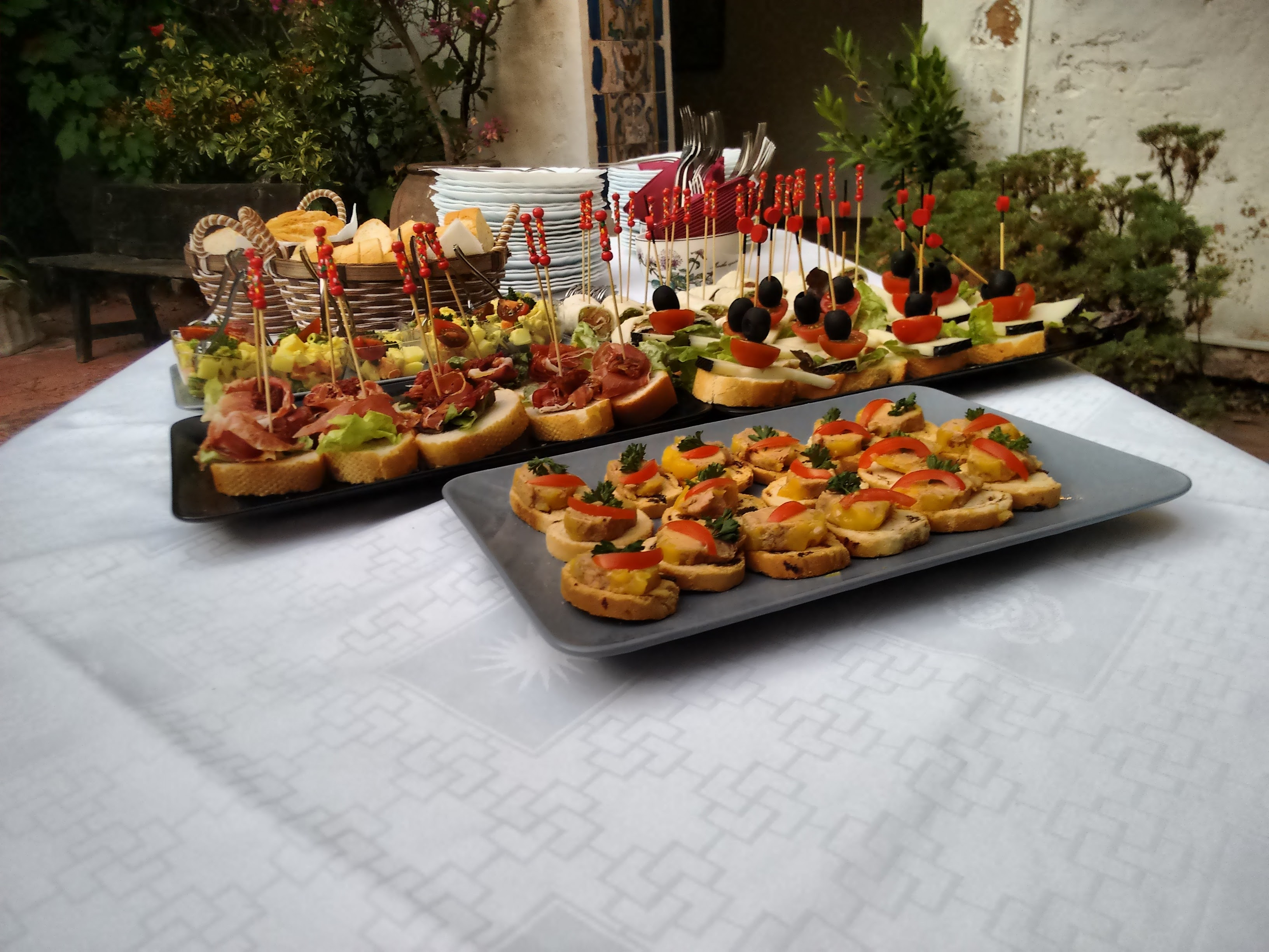 Tapas for Funeral Catering and Receptions